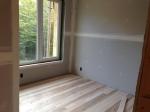 red maple floor upstairs